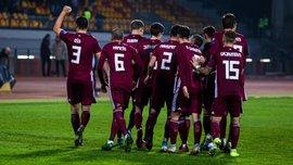 Збірна Латвії сенсаційною перемогою над Австрією перервала 2-річну безвиграшну серію – представник УПЛ став найкращим