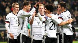 Хет-трик Гнабрі та дубль Горецки у відеоогляді матчу Німеччина – Північна Ірландія – 6:1