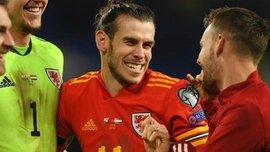 Бейл и сборная Уэльса потроллили Реал после выхода на Евро-2020