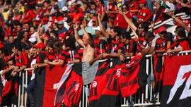Фанати Фламенго епічно провели свою команду на фінал Копа Лібертадорес