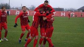 Друга ліга: Діназ у результативному матчі обіграв Ужгород