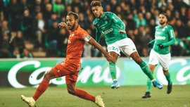 Лига 1: Монако в меньшинстве уступил Бордо, Марсель дожал Тулузу, Сент-Этьен поделил очки с Монпелье
