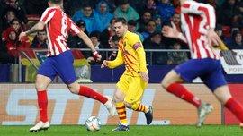 Геніальний гол Мессі у відеоогляді матчу Атлетіко – Барселона