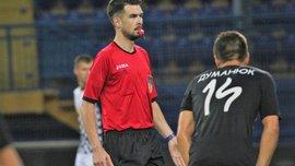 Комітет арбітрів УАФ спростував звинувачення судді Дороша в організації договірних матчів у Першій лізі