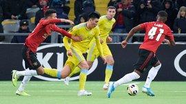 Сенсаційна перемога команди Григорчука у відеоогляді матчу Астана – Манчестер Юнайтед – 2:1