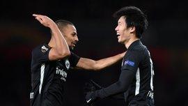 Арсенал – Айнтрахт – 1:2 – видео голов и обзор матча