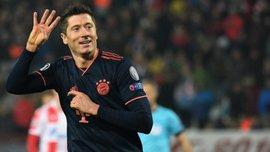 Левандовски – лучший игрок тура в Лиге чемпионов