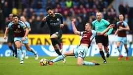 Бернли – Манчестер Сити – 1:4 – видео голов и обзор матча