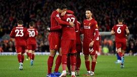 Феерическая победа Ливерпуля в видеообзоре матча против Эвертона