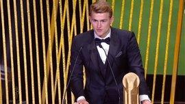 Де Лігт подякував Аяксу за здобуття титулу найкращого молодого гравця року