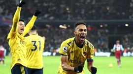 Феерический камбэк Арсенала против Вест Хэма без Ярмоленко в видеообзоре матча АПЛ