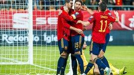 Испания сыграет товарищеские матчи с Германией и Нидерландами
