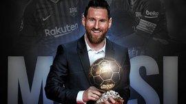 """Мессі презентує """"Золотий м'яч"""" перед матчем Барселона – Мальорка"""
