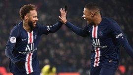 Лига 1: ПСЖ благодаря голам звездного трио обыграл Монпелье, Монако разгромил Амьен