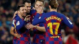 Интер – Барселона: каталонцы вылетели на игру без Месси и Пике