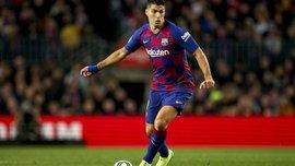 Суарес снова забил классный гол пяткой – теперь на тренировке Барселоны