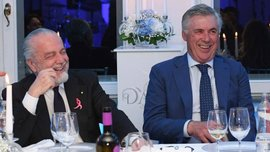 Де Лаурентіс – про звільнення Анчелотті: Мені шкода, що все сталося ось так