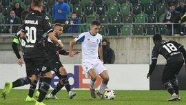 Динамо – Лугано: команды определились с формами на матч Лиги Европы