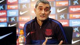 Вальверде признал, что Барселона не справилась с давлением Реал Сосьедада