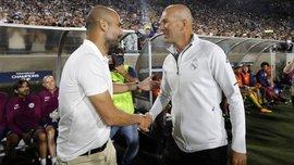 Гвардиола признался, что восхищается Зиданом – они встретятся в плей-офф Лиги чемпионов
