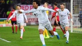Феерический дебют 18-летнего форварда мюнхенцев в видеообзоре матча Фрайбург – Бавария – 1:3