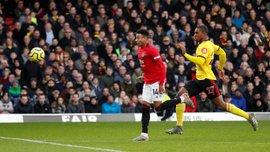"""Сенсаційна поразка """"червоних дияволів"""" у відеоогляді матчу Уотфорд – Манчестер Юнайтед – 2:0"""