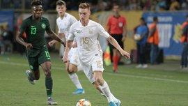 Сборная Украины должна была пропустить 6 голов в первом тайме матча с Нигерией, – Бонавентуре