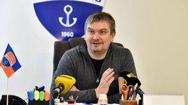 Санін назвав амбітні плани Маріуполя в Кубку України