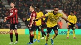 Борнмут – Арсенал – 1:1 – видео голов и обзор матча