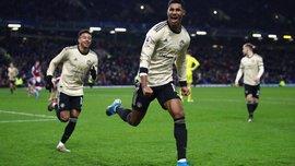 Бернли – Манчестер Юнайтед – 0:2 – видео голов и обзор матча