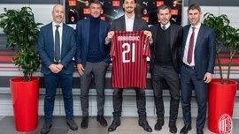 Милан представил Ибрагимовича – известна дата возможного дебюта шведа