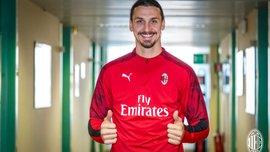 Ибрагимович оригинально объяснил выбор номера в Милане и дал оценку своему переходу за Златанометром