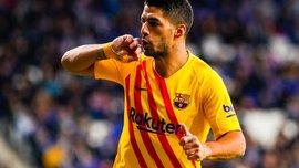 Суарес установил интересное достижение – уругваец причастен к последним десяти голам Барселоны