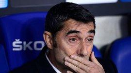 Вальверде назвав ключову причину невдачі Барселони в каталонському дербі