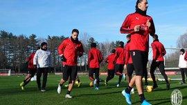 Ибрагимович попал в заявку Милана на матч против Сампдории – швед может дебютировать уже завтра