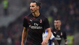 Дебют Ибрагимовича в видеообзоре матча Милан – Сампдория