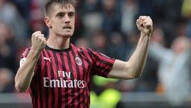 Милан получил три запроса относительно Пйонтека