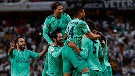 """Розкішний """"сухий лист"""" Крооса і ефектний гол шведою Модріча у відеоогляді матчу Валенсія – Реал Мадрид – 1:3"""