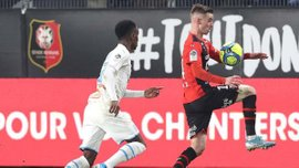 Марсель вырвал победу над Ренном в центральном матче тура Лиги 1 и приблизился к ПСЖ