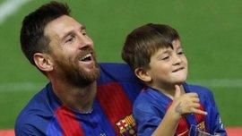 Син Мессі забив гол від стійки після ідеального розрізного пасу – відео пострілу юного аргентинця