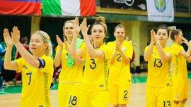 Жіноча збірна України з футзалу забила шедевральний гол у ворота Фінляндії – відео космічної комбінації