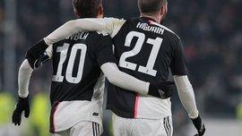 Шедевр Дибалы и результативная стенка в стиле FIFA с Игуаином в видеообзоре матча Ювентус – Удинезе – 4:0