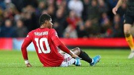 Рашфорд зазнав пошкодження у матчі Кубка Англії і ризикує пропустити битву проти Ліверпуля