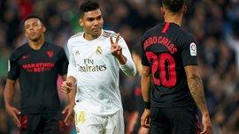 Суддівські скандали і геніальний асист Йовіча у відеоогляді матчу Реал – Севілья – 2:1