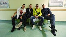 Гравці Шахтаря вийшли з відпустки і пройшли медогляд перед першим тренувальним збором