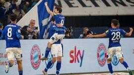 Впечатляющая эффективность форварда сборной Австрии в видеообзоре матча Шальке – Боруссия М – 2:0
