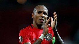 Янг эмоционально попрощался с Манчестер Юнайтед