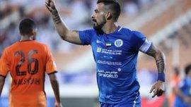 Экс-форвард сборной Испании Негредо забил гол на 6 секунде матча – видео впечатляющего взятия ворот