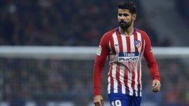 Диего Коста вернулся в общую группу Атлетико – форвард восстановился после операции раньше, чем прогнозировалось