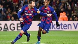 Барселона сделала более тысячи передач в матче с Гранадой – это третий результат в истории клуба